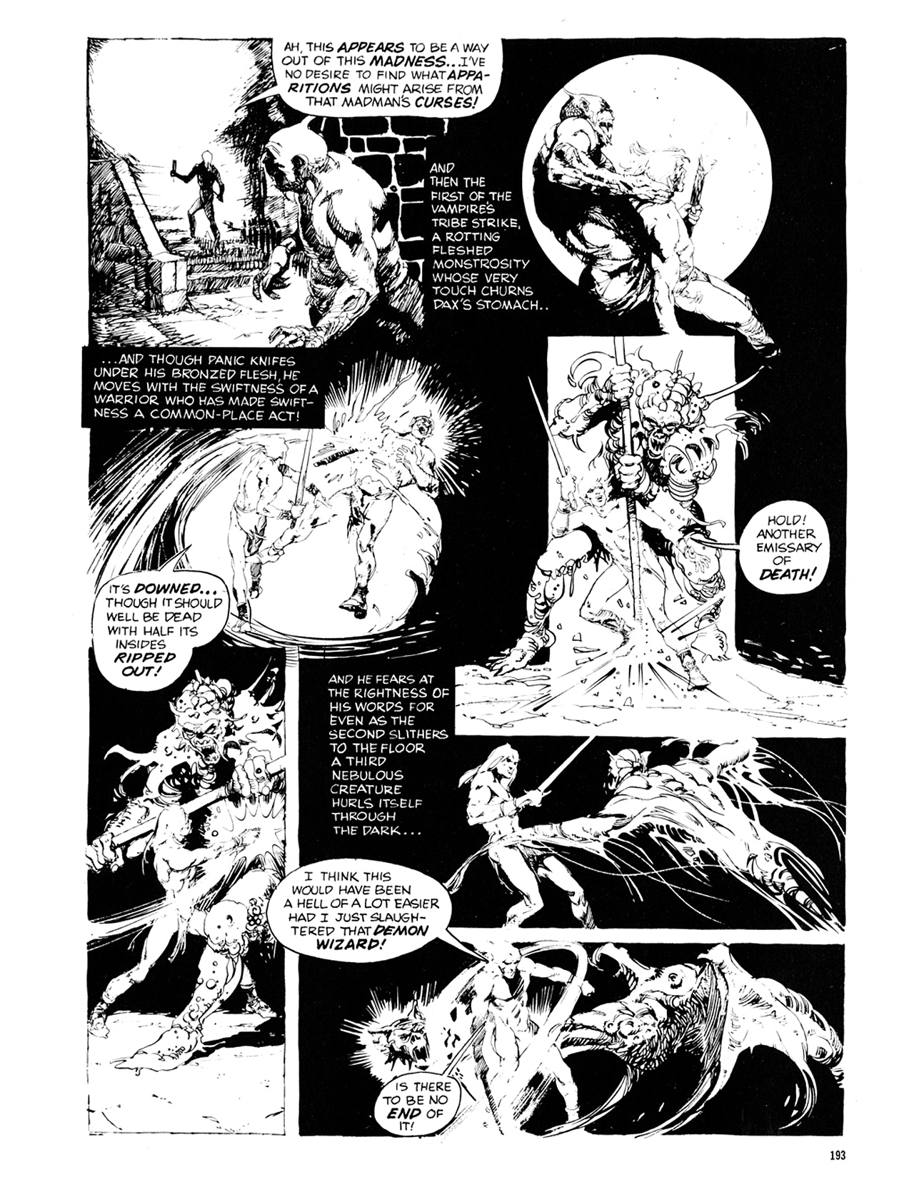Read online Eerie Archives comic -  Issue # TPB 10 - 194