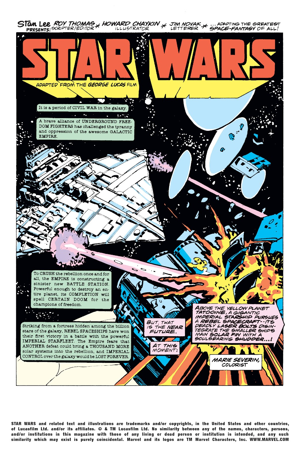 Read online Star Wars Legends: The Original Marvel Years - Epic Collection comic -  Issue # TPB 1 (Part 1) - 5