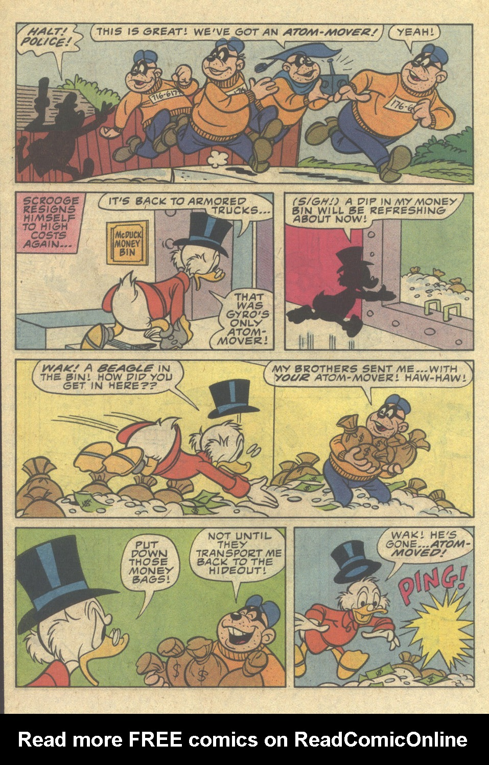 Read online Uncle Scrooge (1953) comic -  Issue #206 - 30