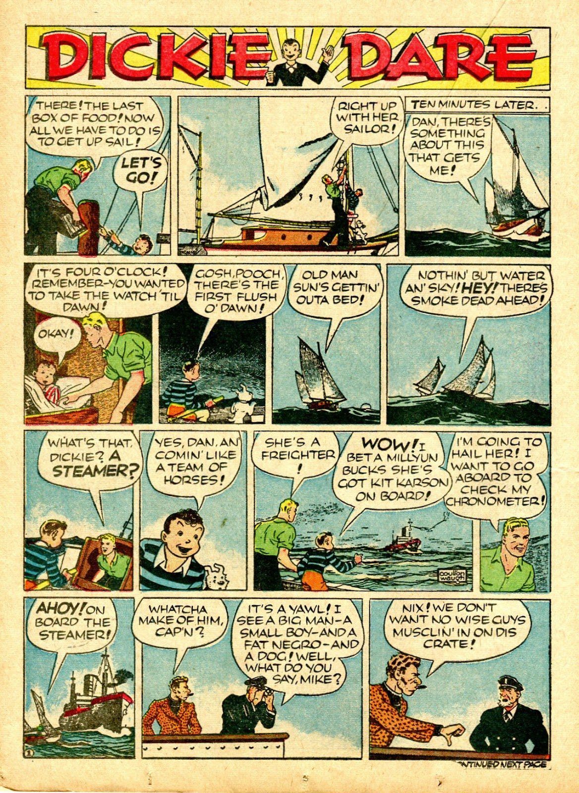 Read online Famous Funnies comic -  Issue #63 - 25