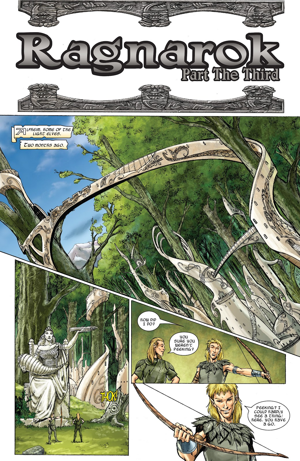 Read online Thor: Ragnaroks comic -  Issue # TPB (Part 2) - 76