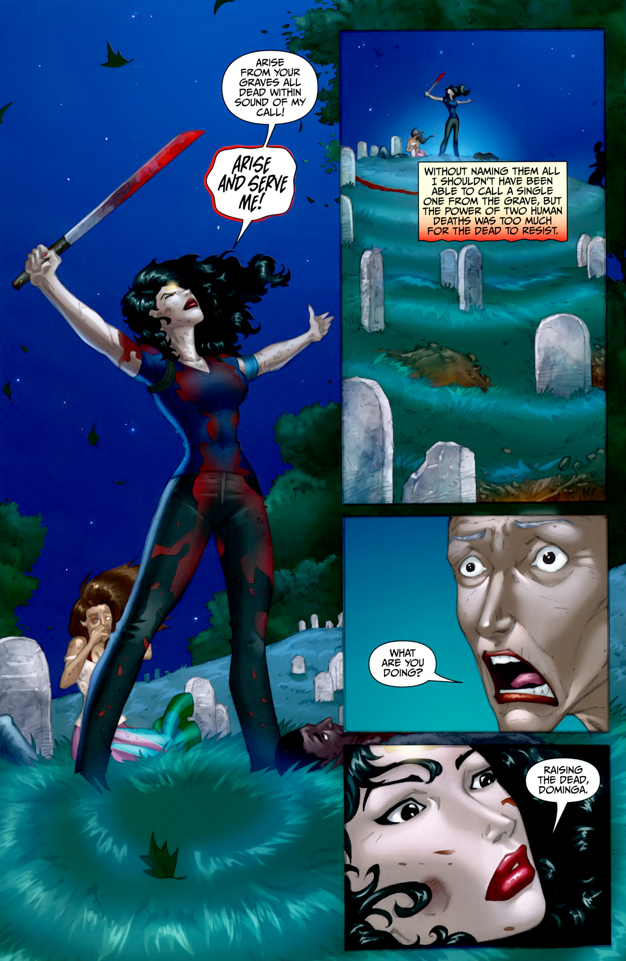 Read online Anita Blake: The Laughing Corpse - Executioner comic -  Issue #5 - 6