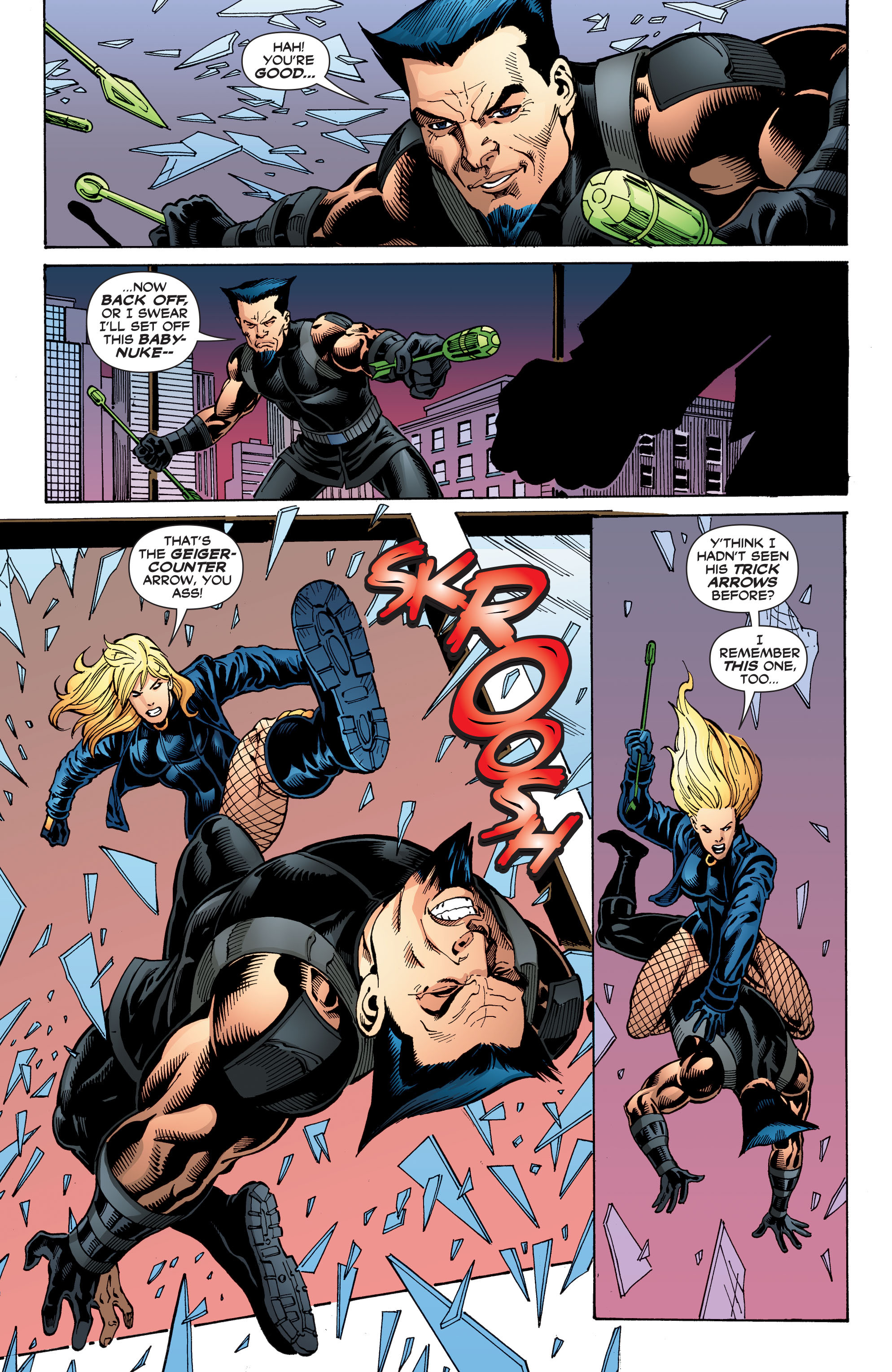 Read online Black Canary (2007) comic -  Issue #3 - 15