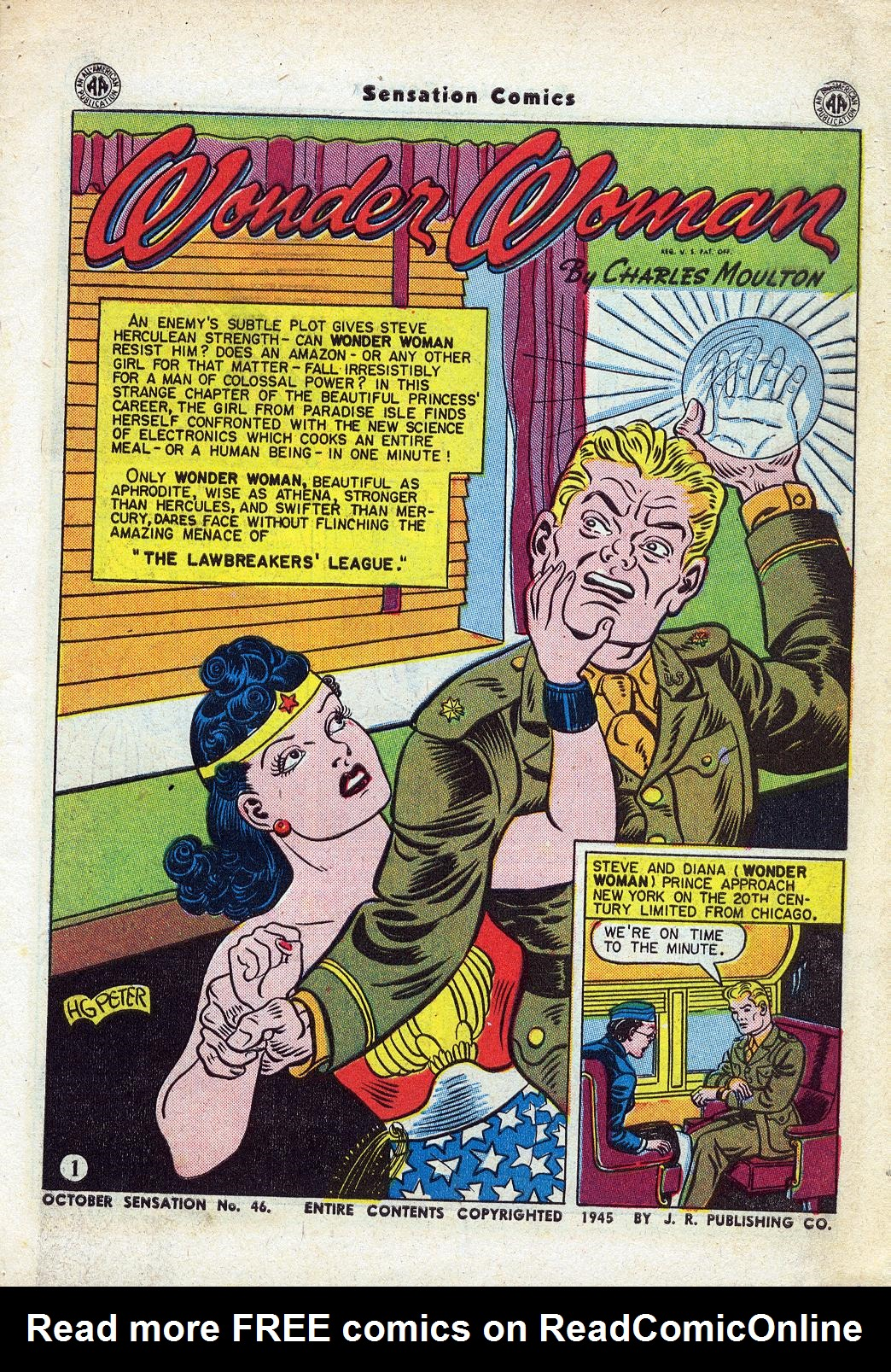 Read online Sensation (Mystery) Comics comic -  Issue #46 - 3