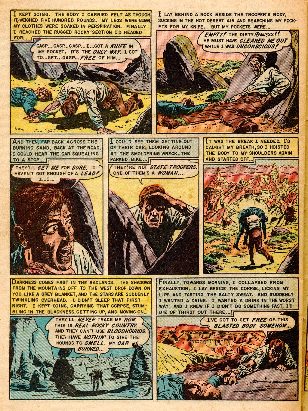 Read online Shock SuspenStories comic -  Issue #9 - 30