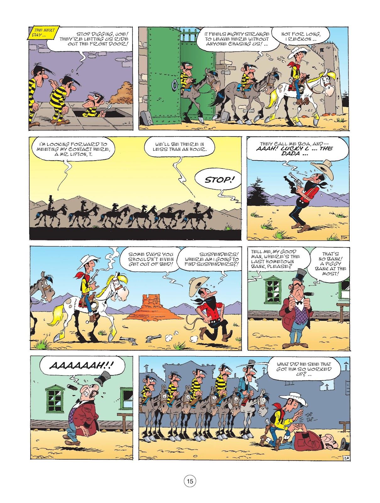 A Lucky Luke Adventure issue 72 - Page 17