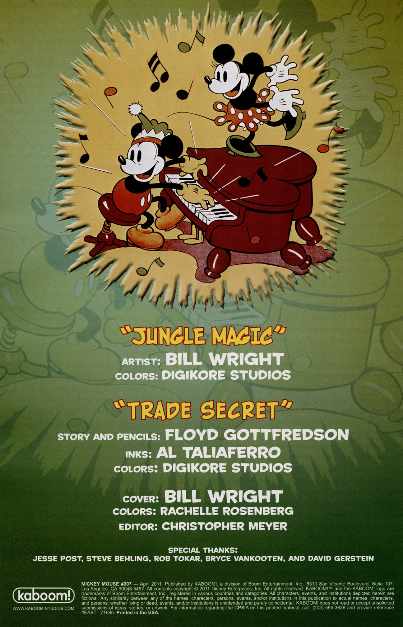 Read online Mickey Mouse (2011) comic -  Issue #307 - 2