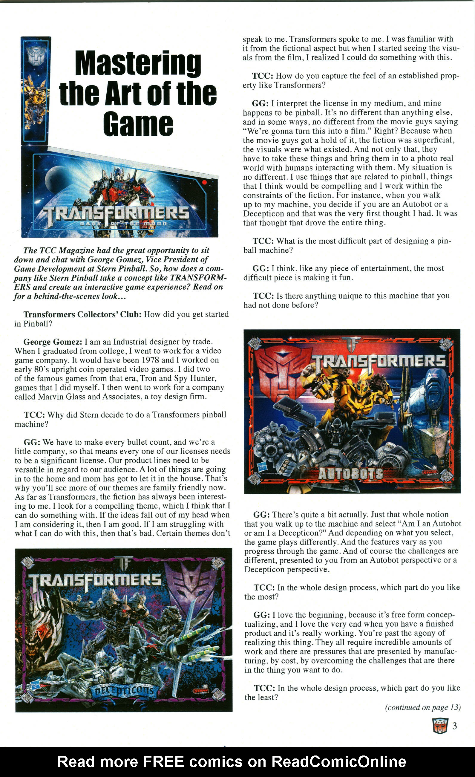 Read online Transformers: Collectors' Club comic -  Issue #52 - 3