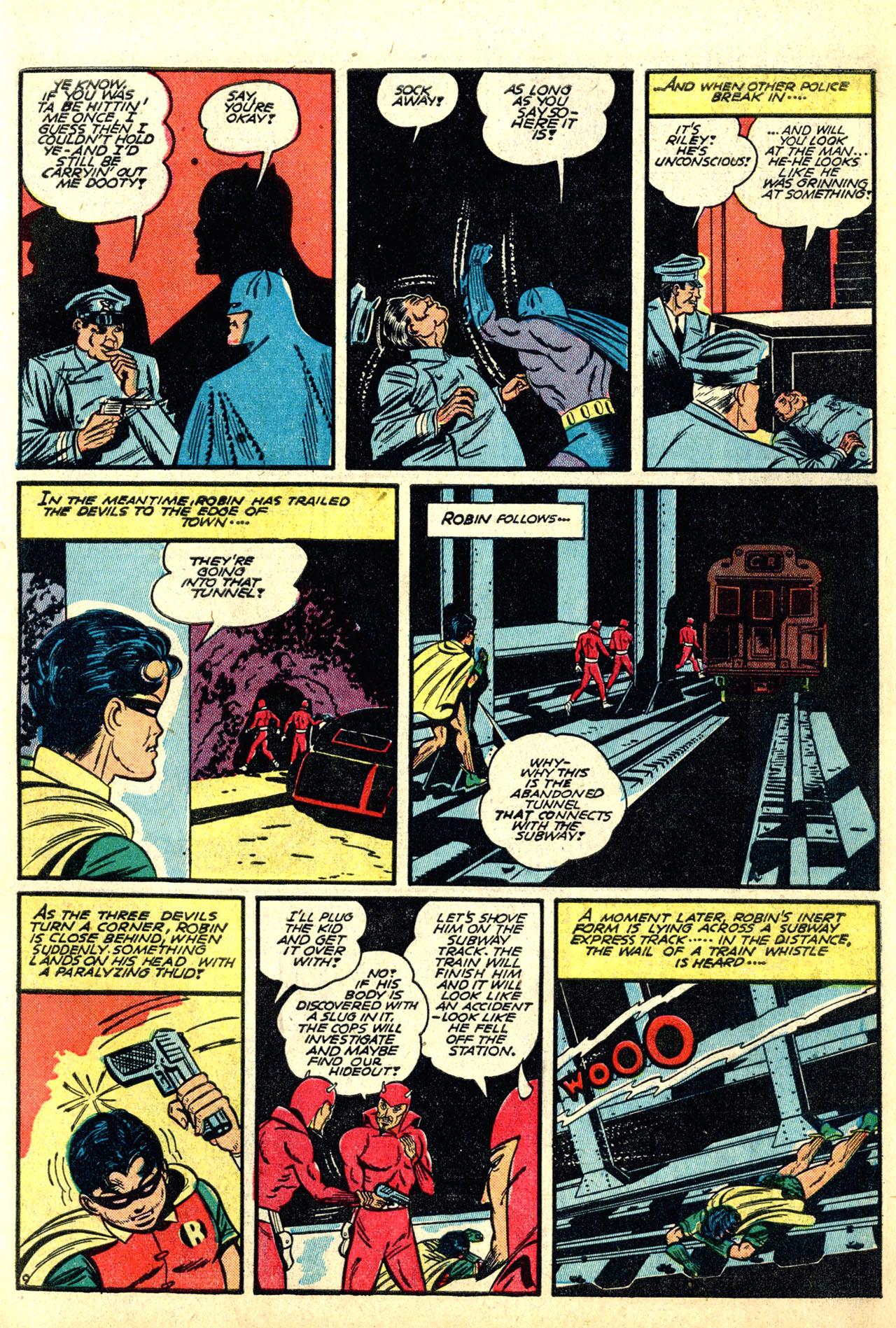 Read online Detective Comics (1937) comic -  Issue #50 - 11