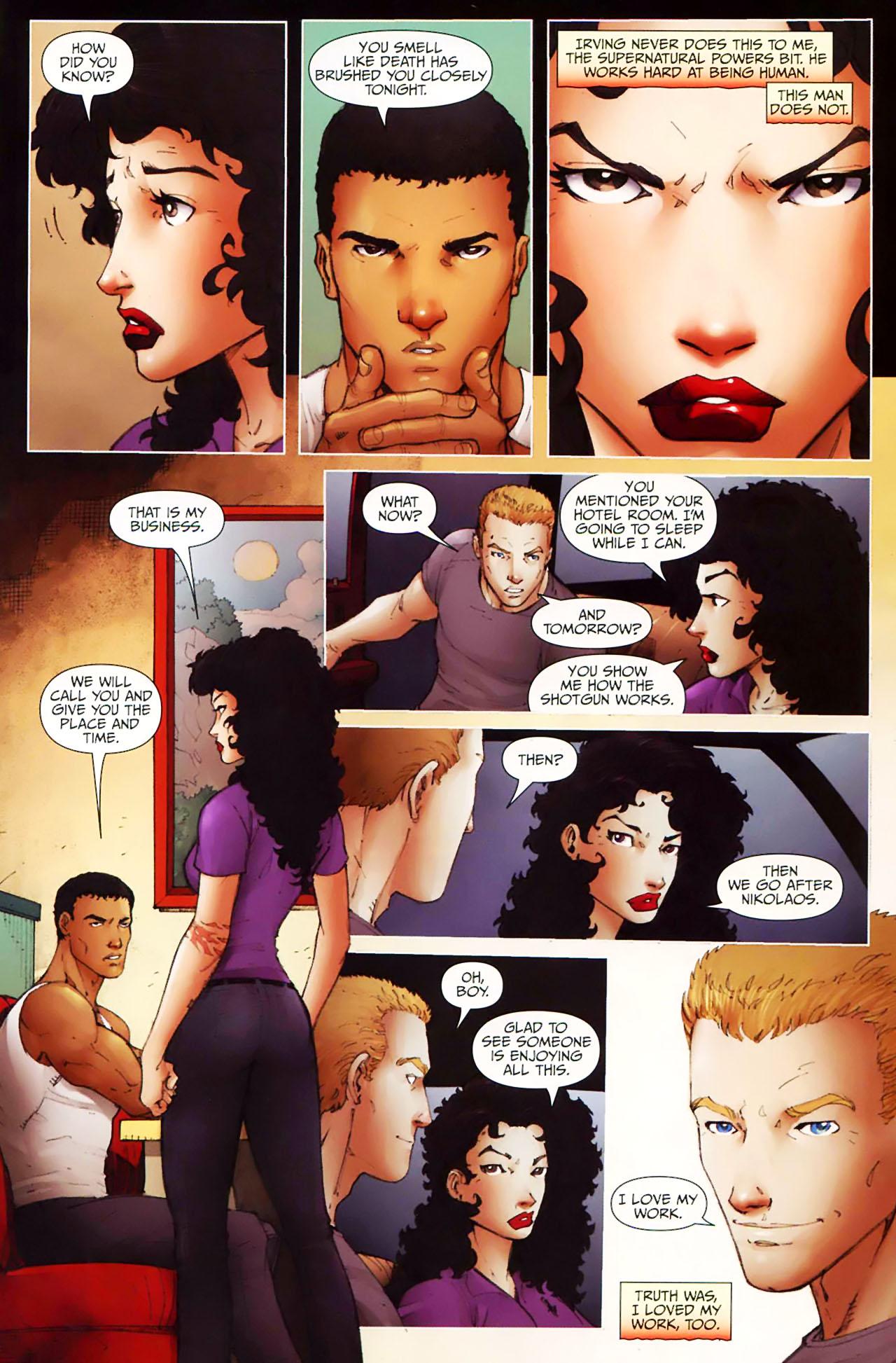 Read online Anita Blake, Vampire Hunter: Guilty Pleasures comic -  Issue #11 - 13