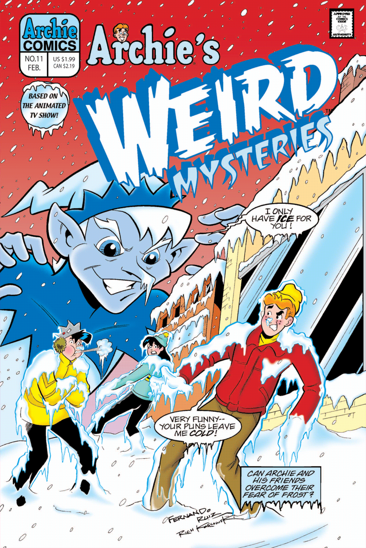 Read online Archie's Weird Mysteries comic -  Issue #11 - 1