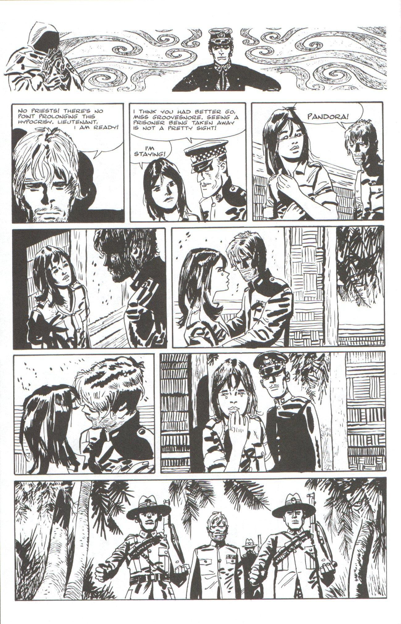 Read online Corto Maltese: Ballad of the Salt Sea comic -  Issue #7 - 10