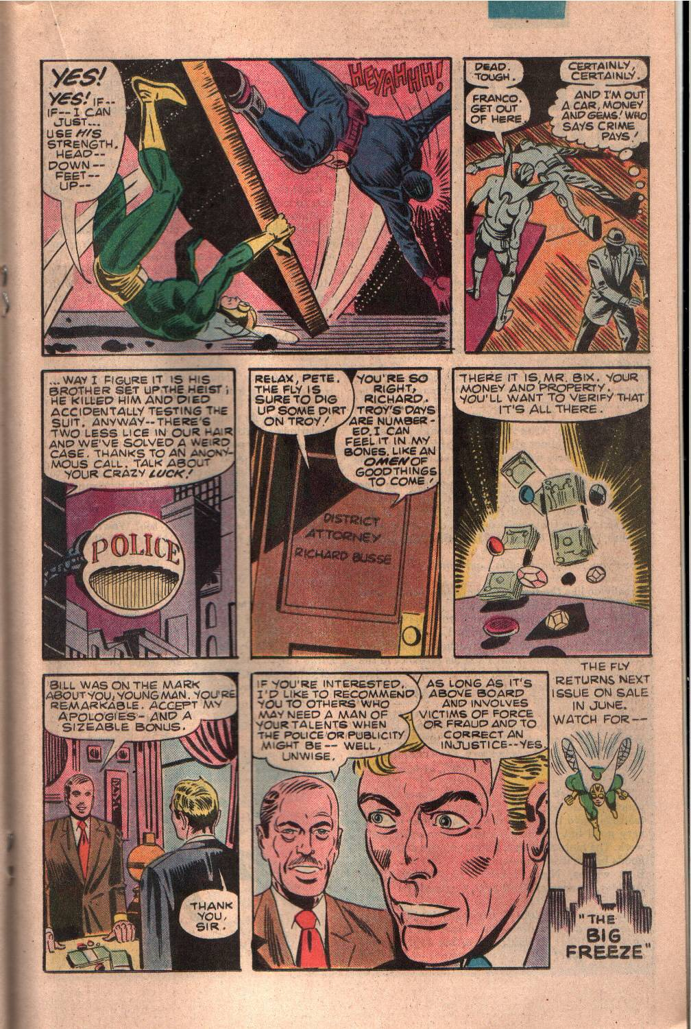 Read online The Fly (1983) comic -  Issue #7 - 16