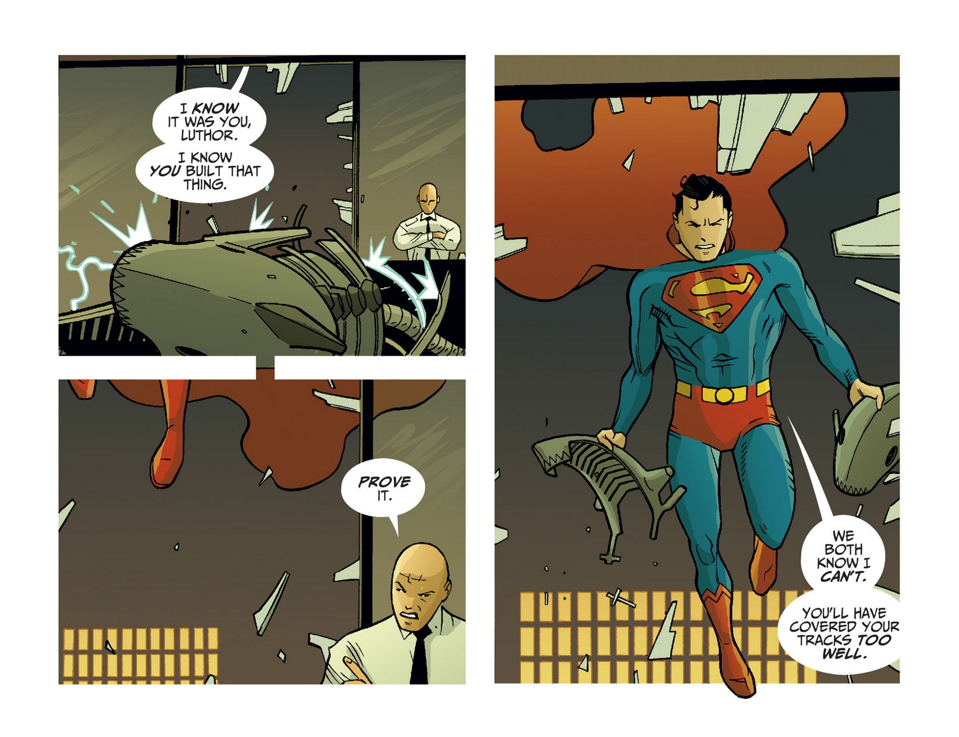 Read online Adventures of Superman [I] comic -  Issue #10 - 17