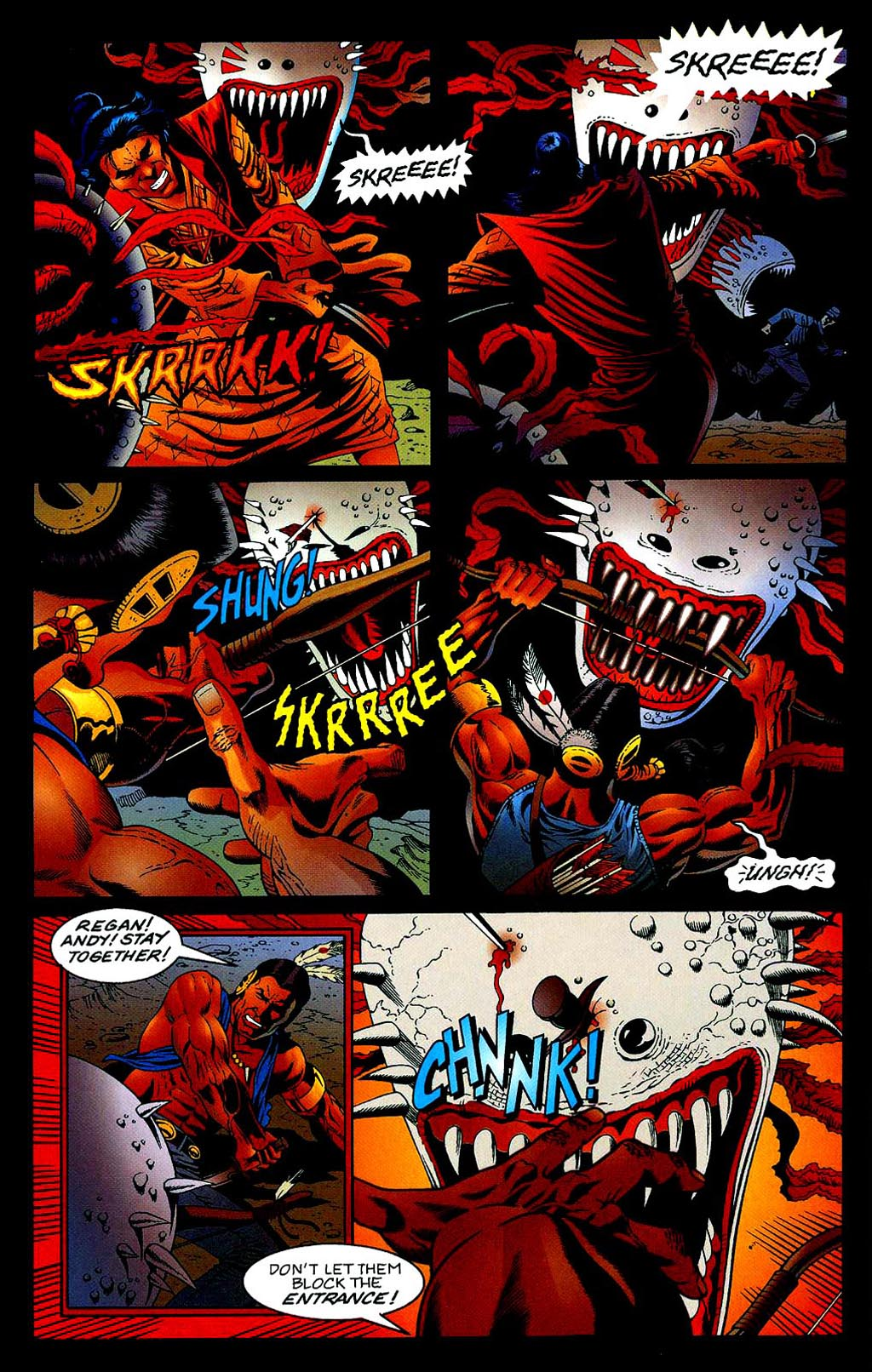 Read online Turok, Dinosaur Hunter (1993) comic -  Issue #40 - 12