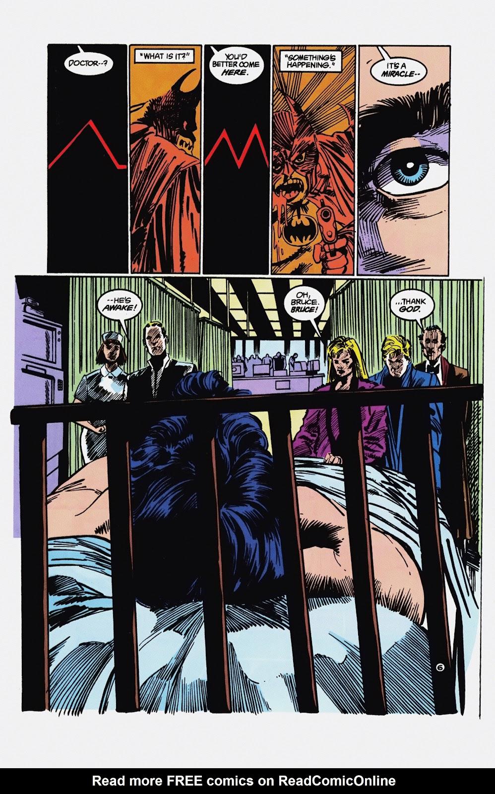Read online Detective Comics (1937) comic -  Issue # _TPB Batman - Blind Justice (Part 1) - 93