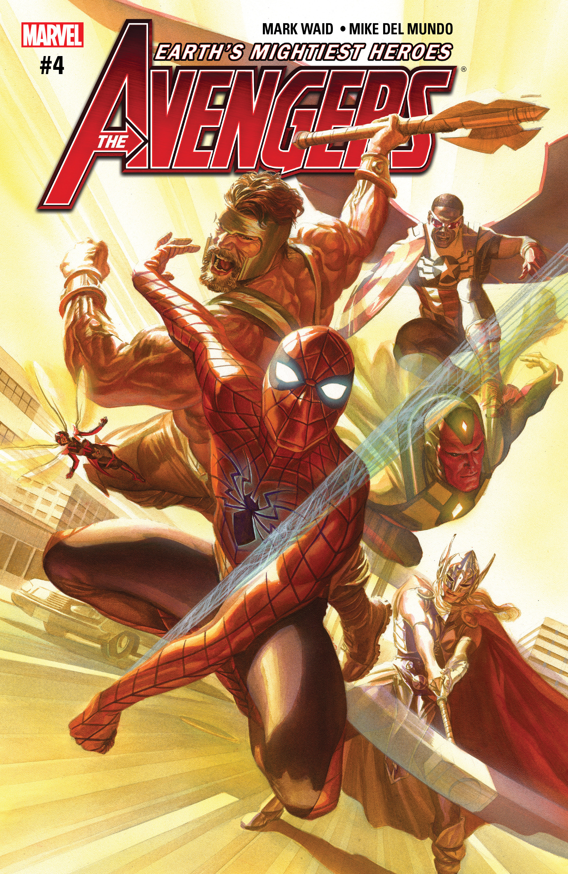 Read online Avengers (2016) comic -  Issue #4 - 1
