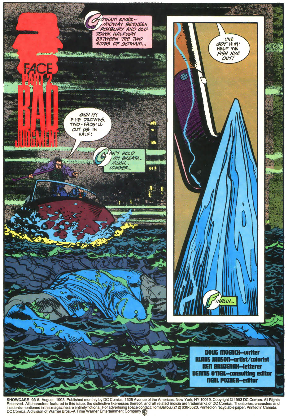 Read online Showcase '93 comic -  Issue #8 - 2