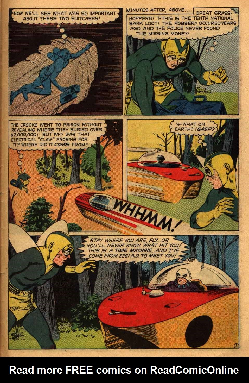 Adventures of the Fly issue 13 - Page 32