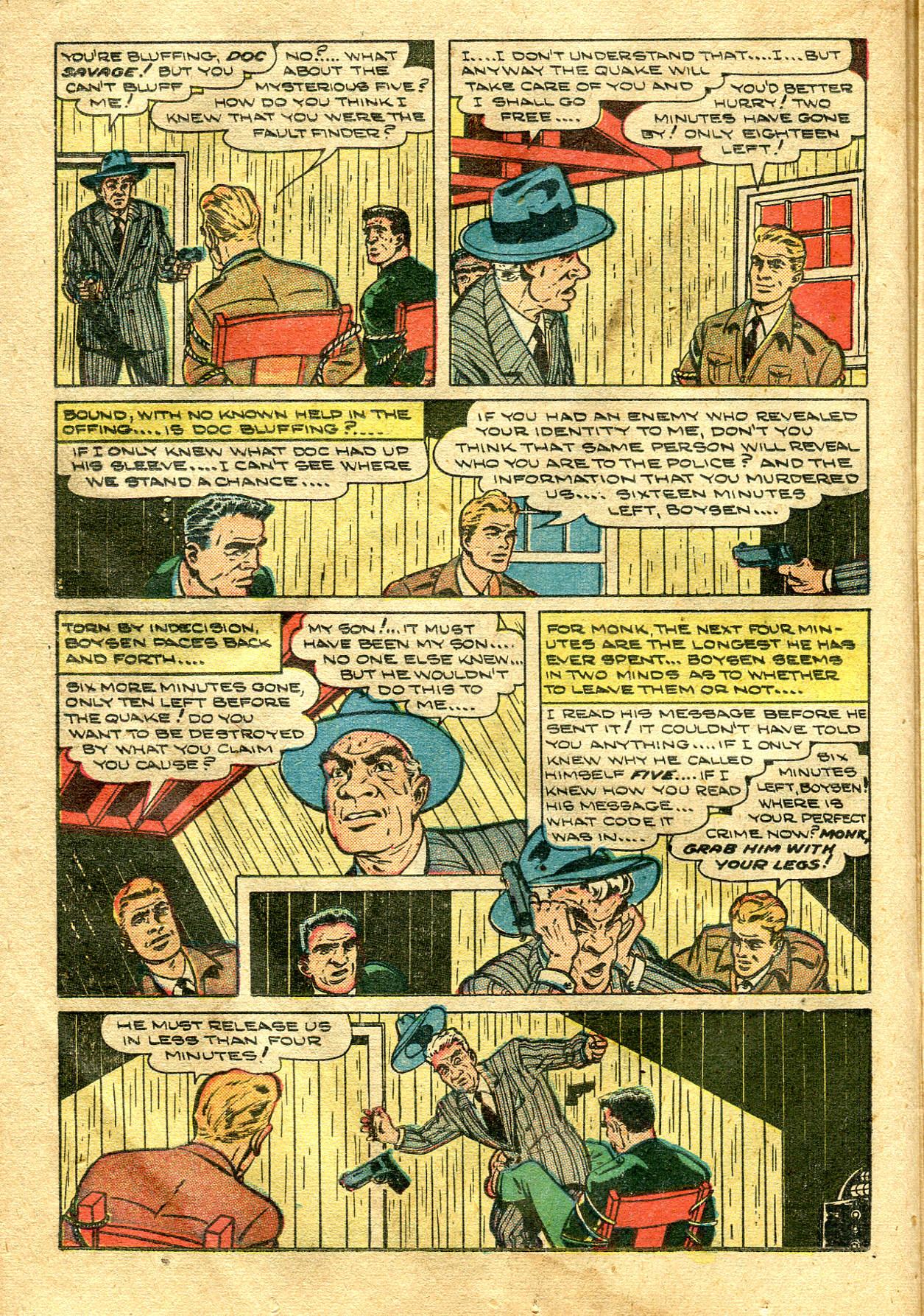 Read online Shadow Comics comic -  Issue #99 - 26