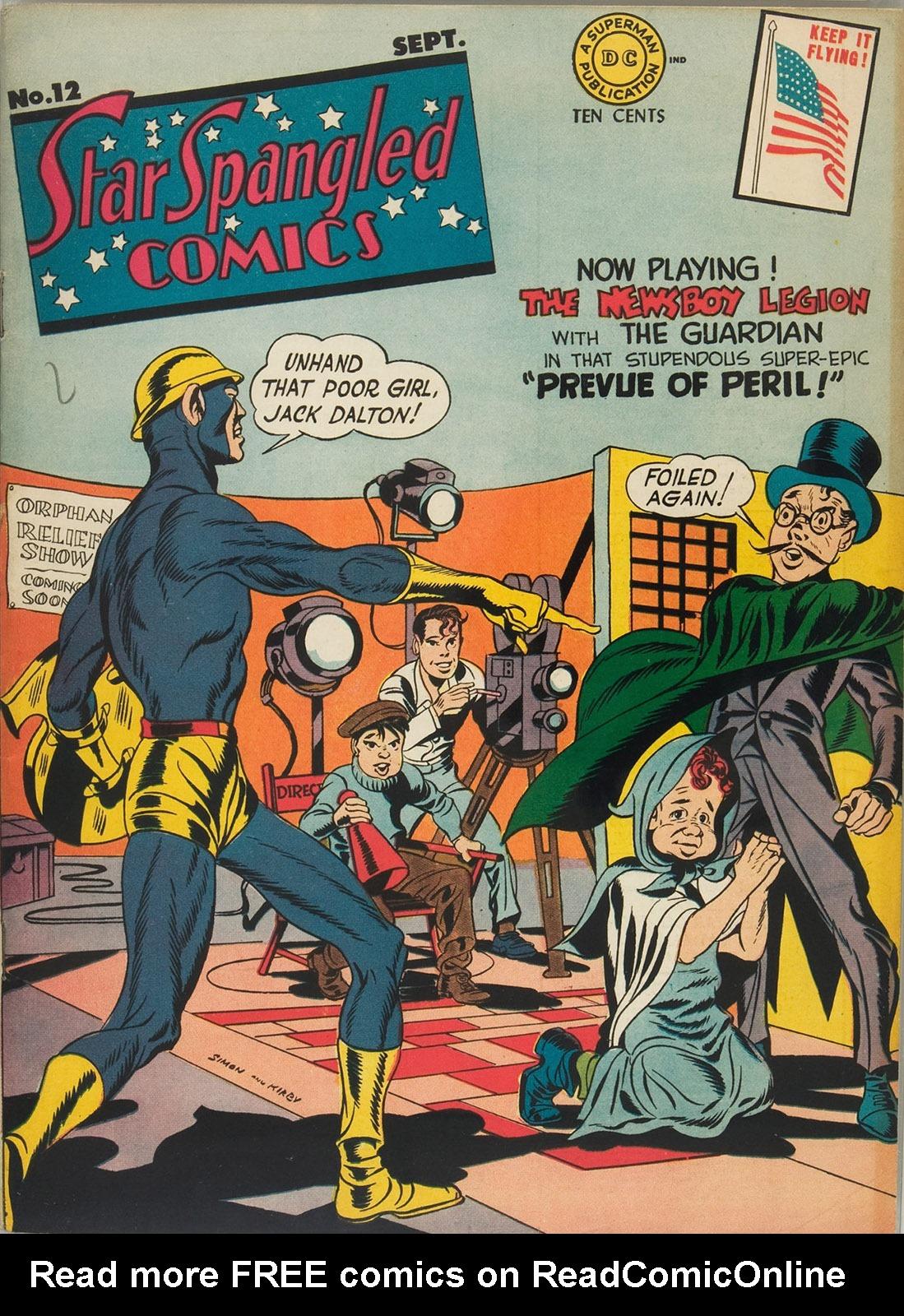 Star Spangled Comics (1941) 12 Page 1