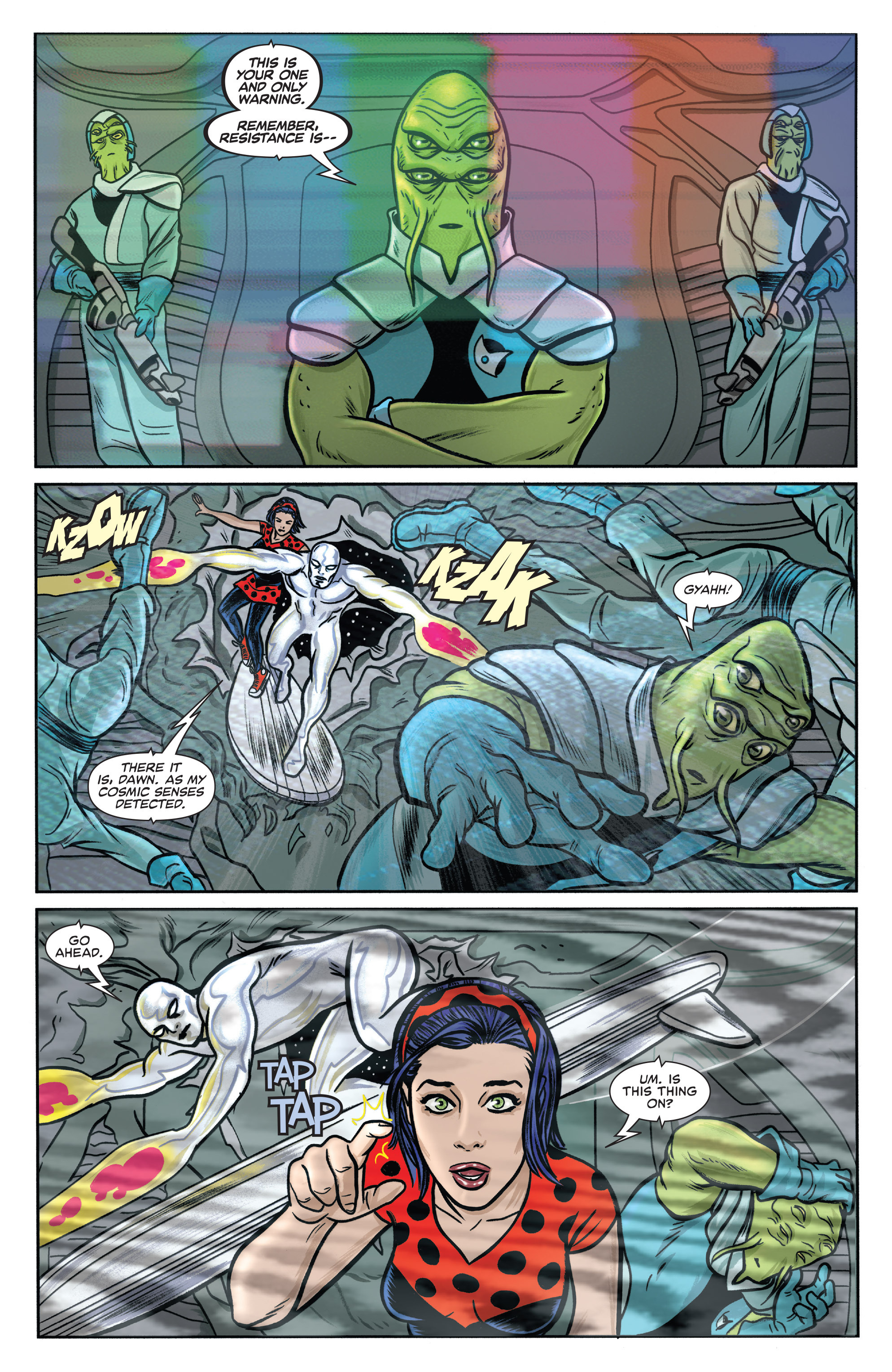 Read online Silver Surfer (2016) comic -  Issue #1 - 4