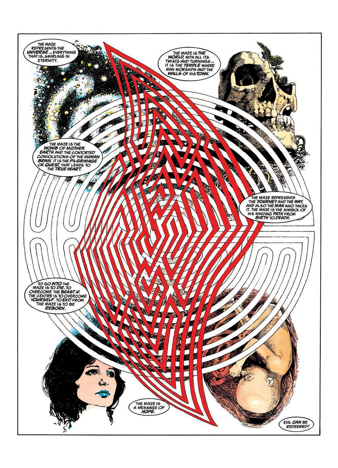 Read online Mazeworld comic -  Issue # TPB - 21