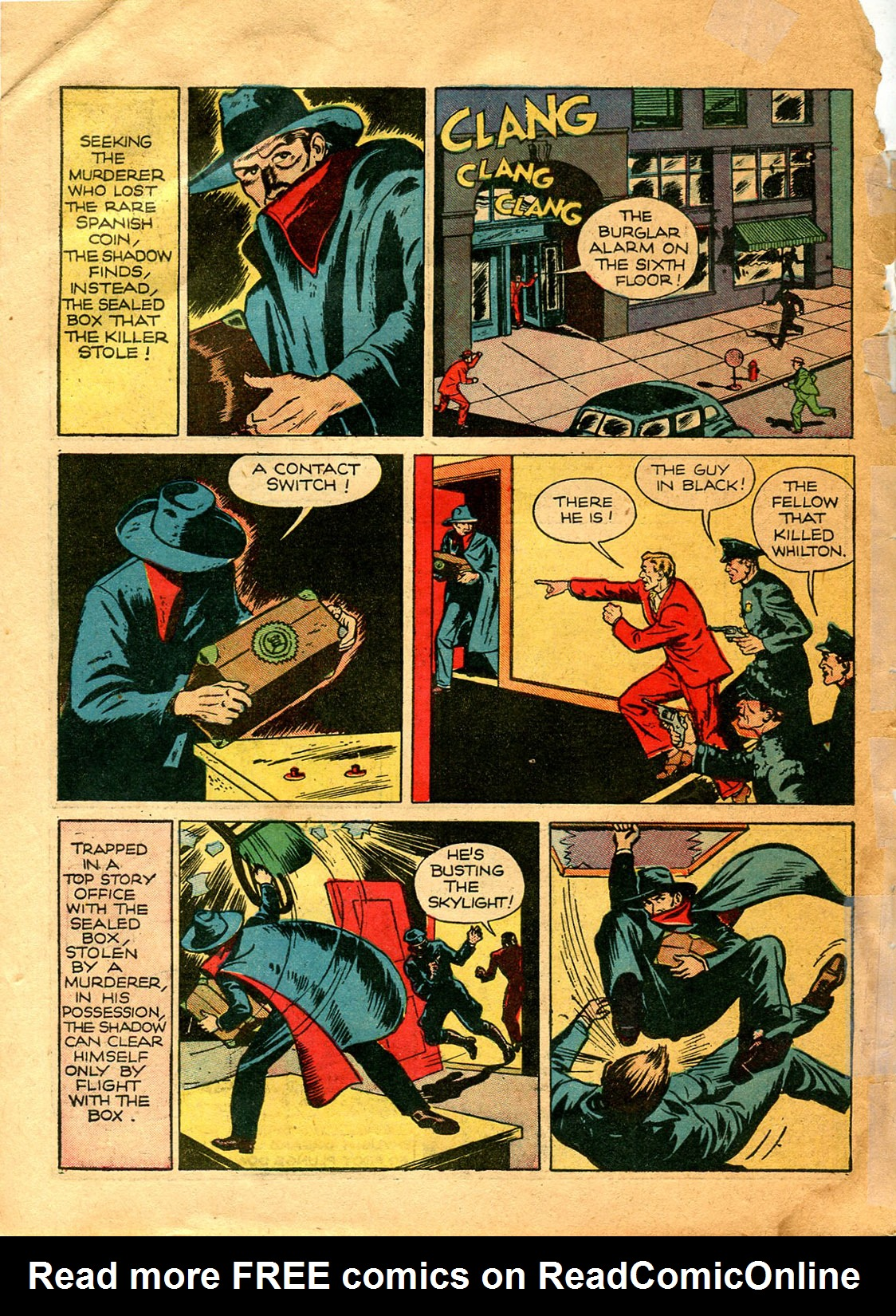 Read online Shadow Comics comic -  Issue #9 - 10