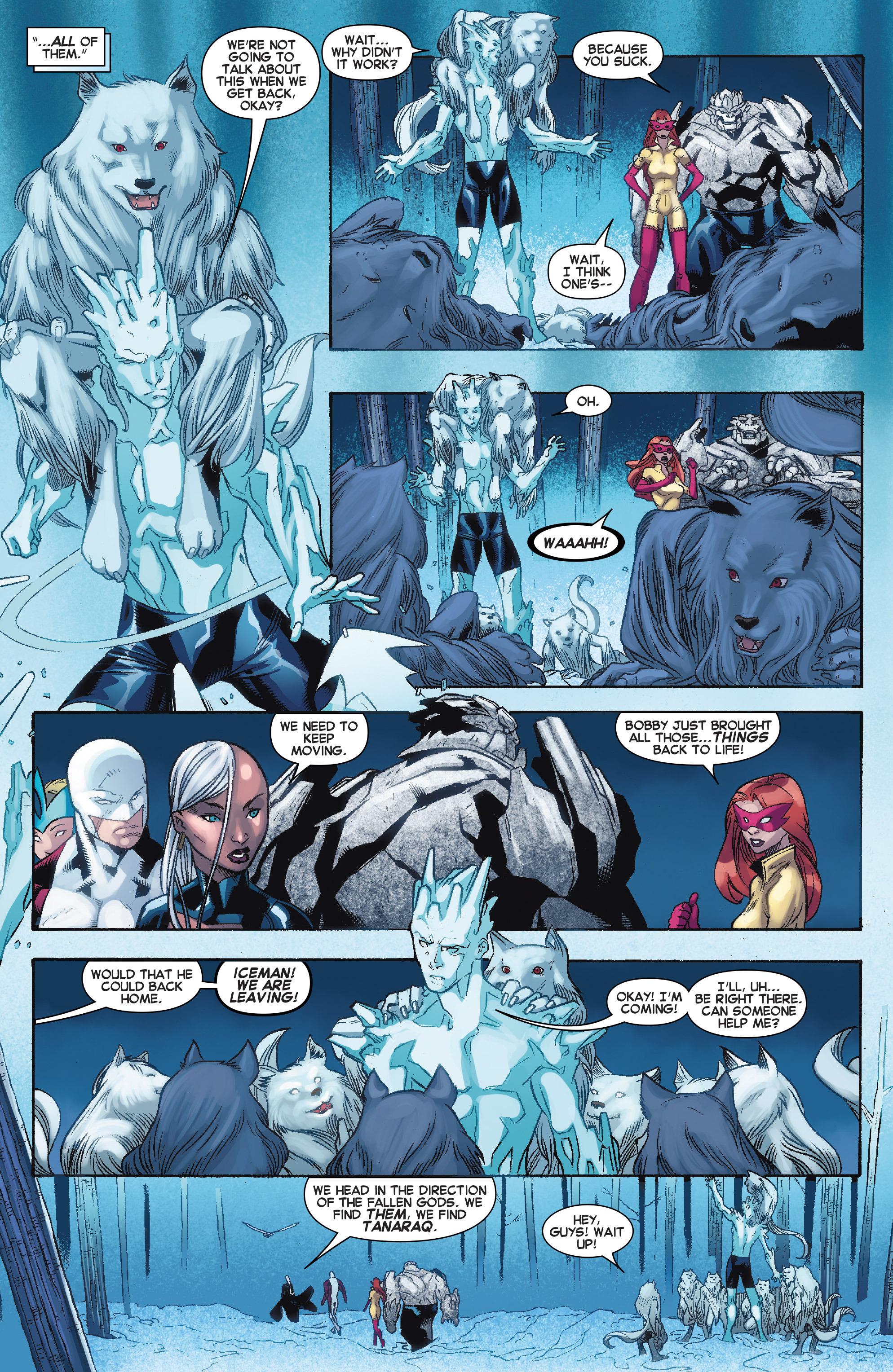 Read online Amazing X-Men (2014) comic -  Issue #11 - 12