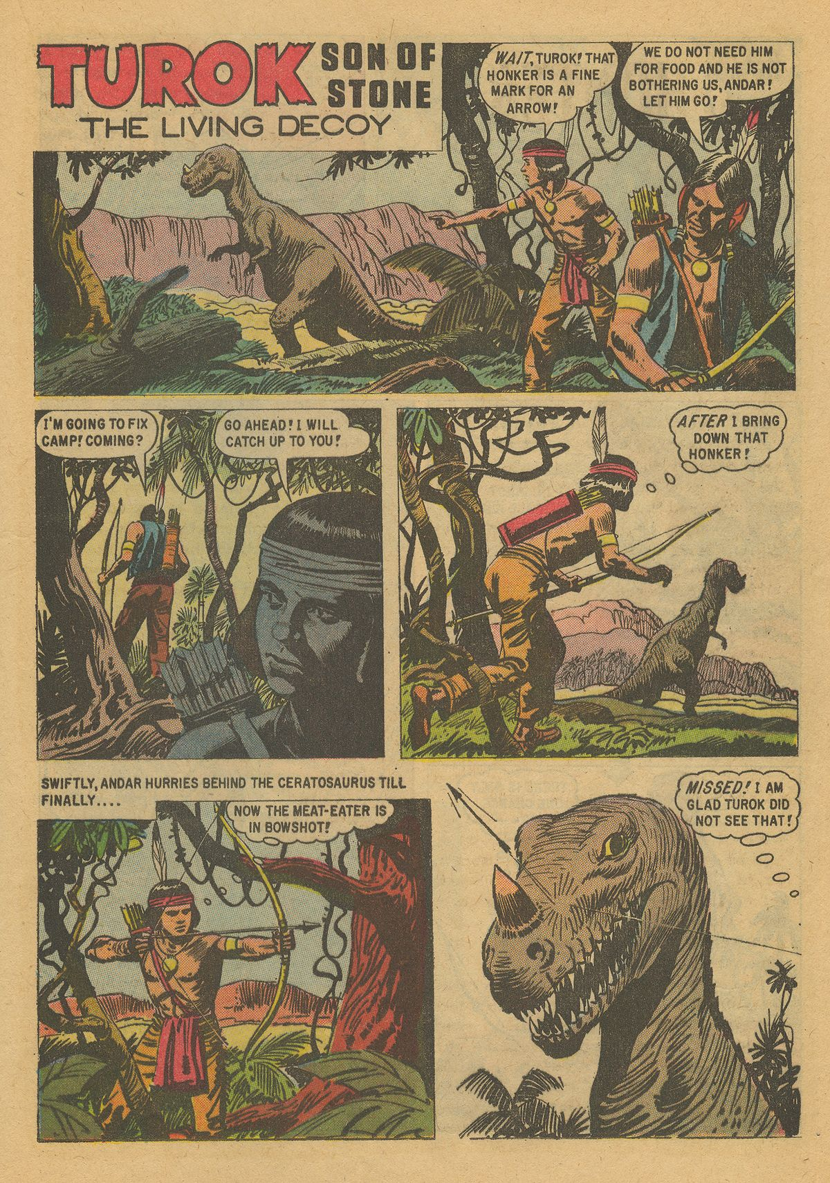 Read online Turok, Son of Stone comic -  Issue #16 - 21