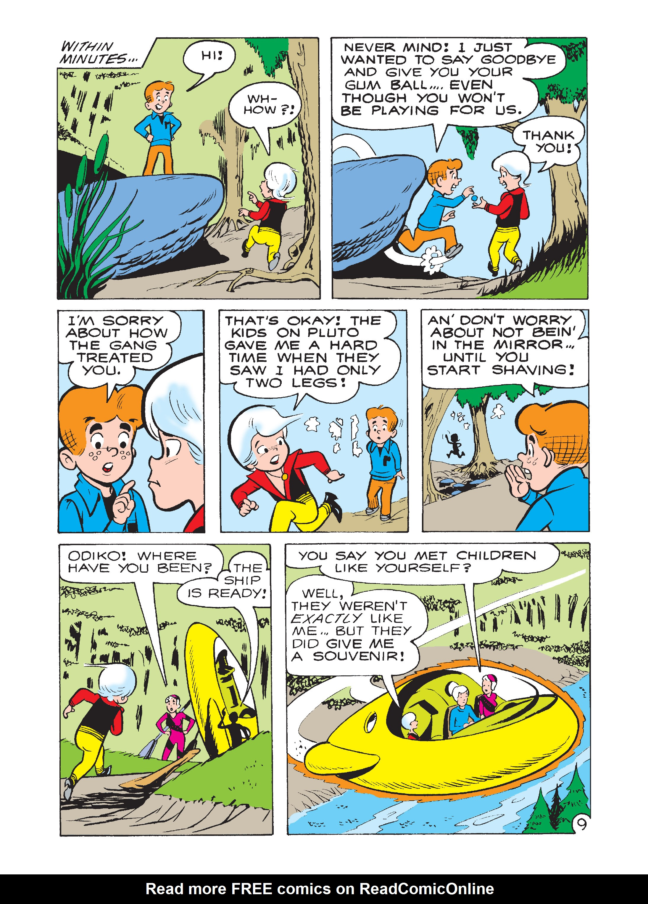 Read online Archie 75th Anniversary Digest comic -  Issue #1 - 56