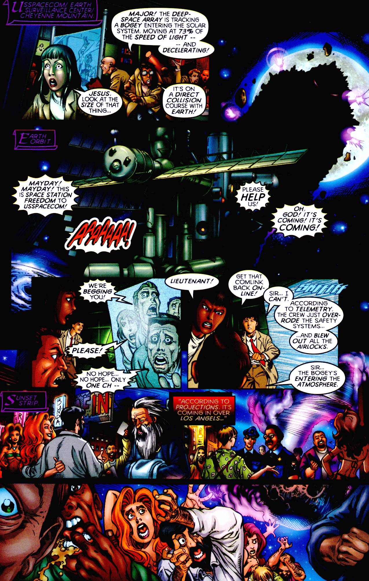 Read online Armageddon (1999) comic -  Issue #1 - 18