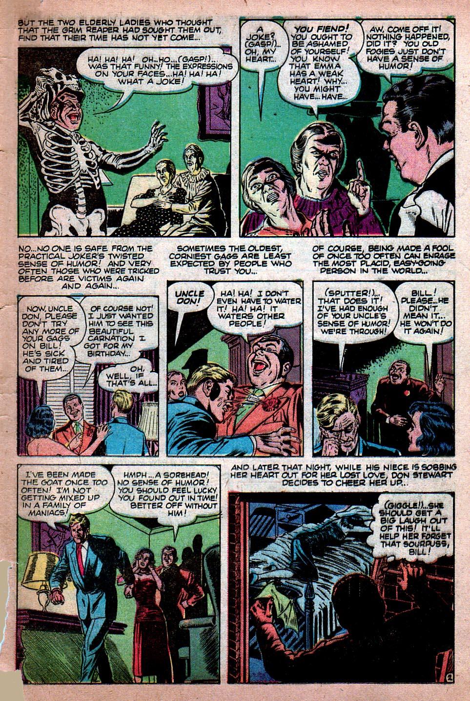 Read online Adventures into Weird Worlds comic -  Issue #15 - 10