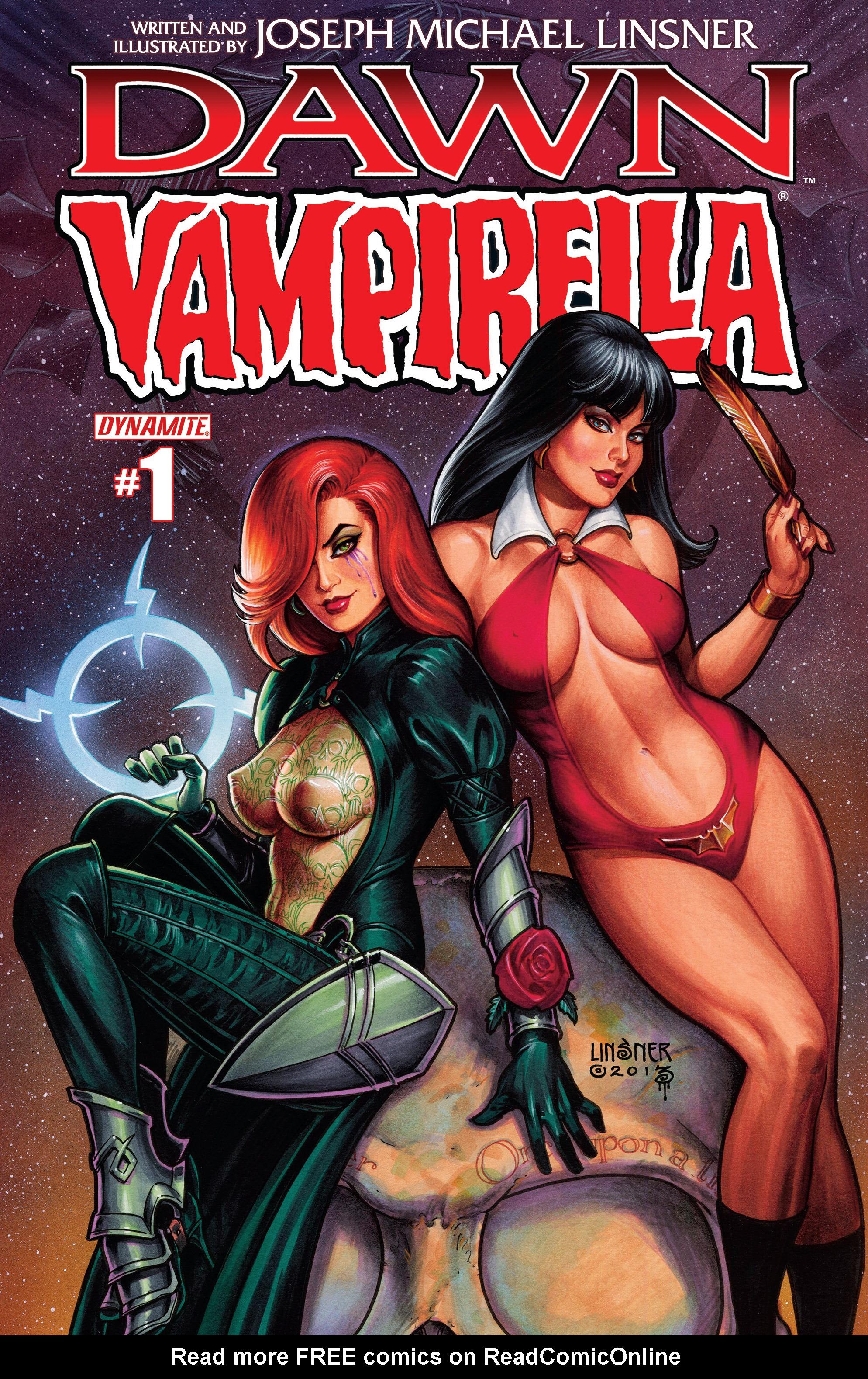 Dawn/Vampirella 1 Page 1