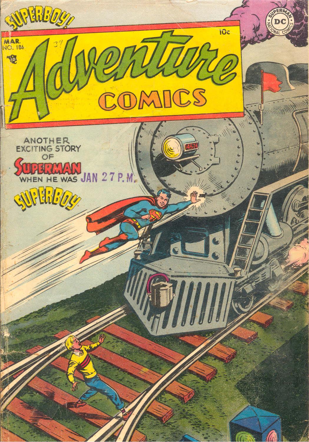 Read online Adventure Comics (1938) comic -  Issue #186 - 1