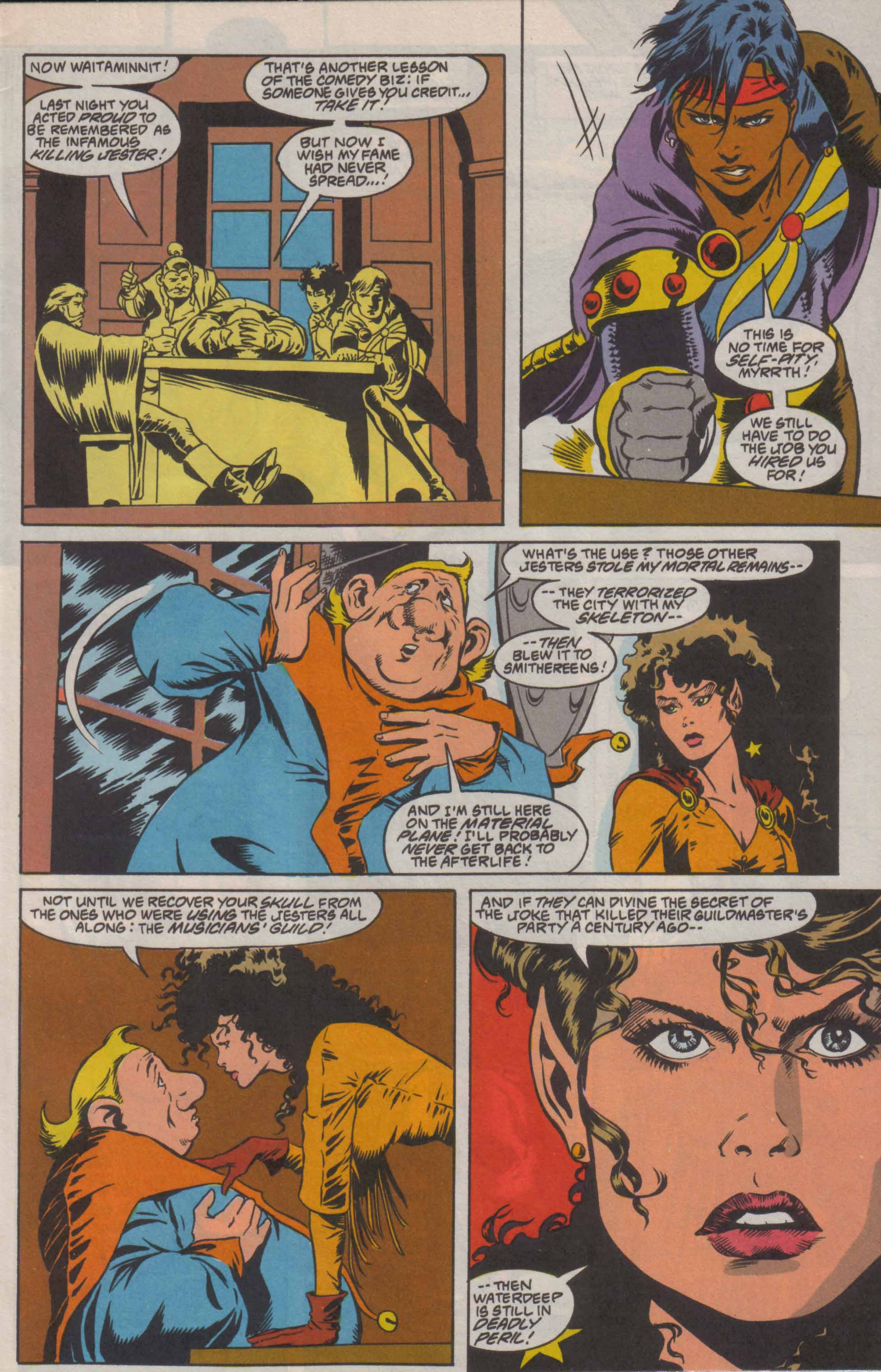 Read online Advanced Dungeons & Dragons comic -  Issue #8 - 4