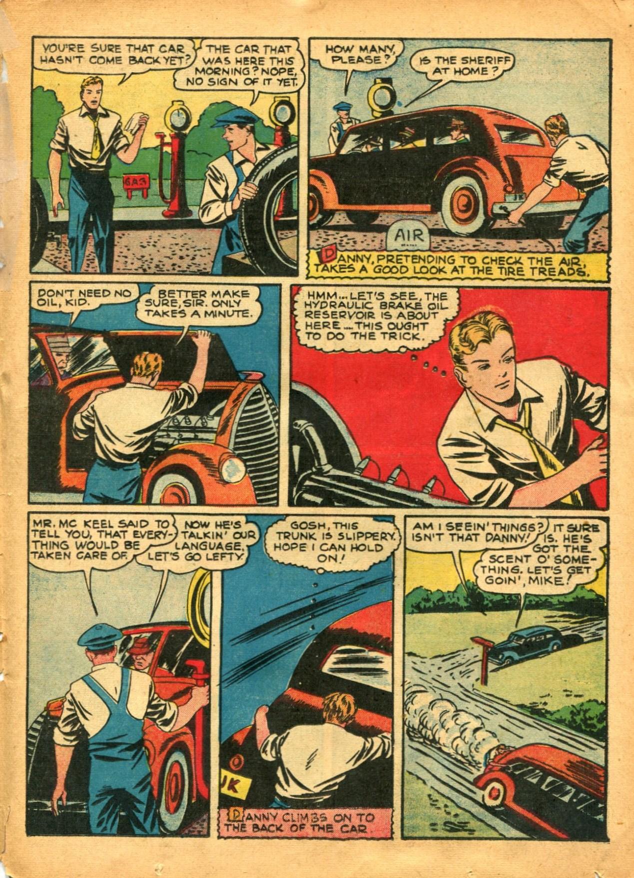 Read online Shadow Comics comic -  Issue #12 - 45