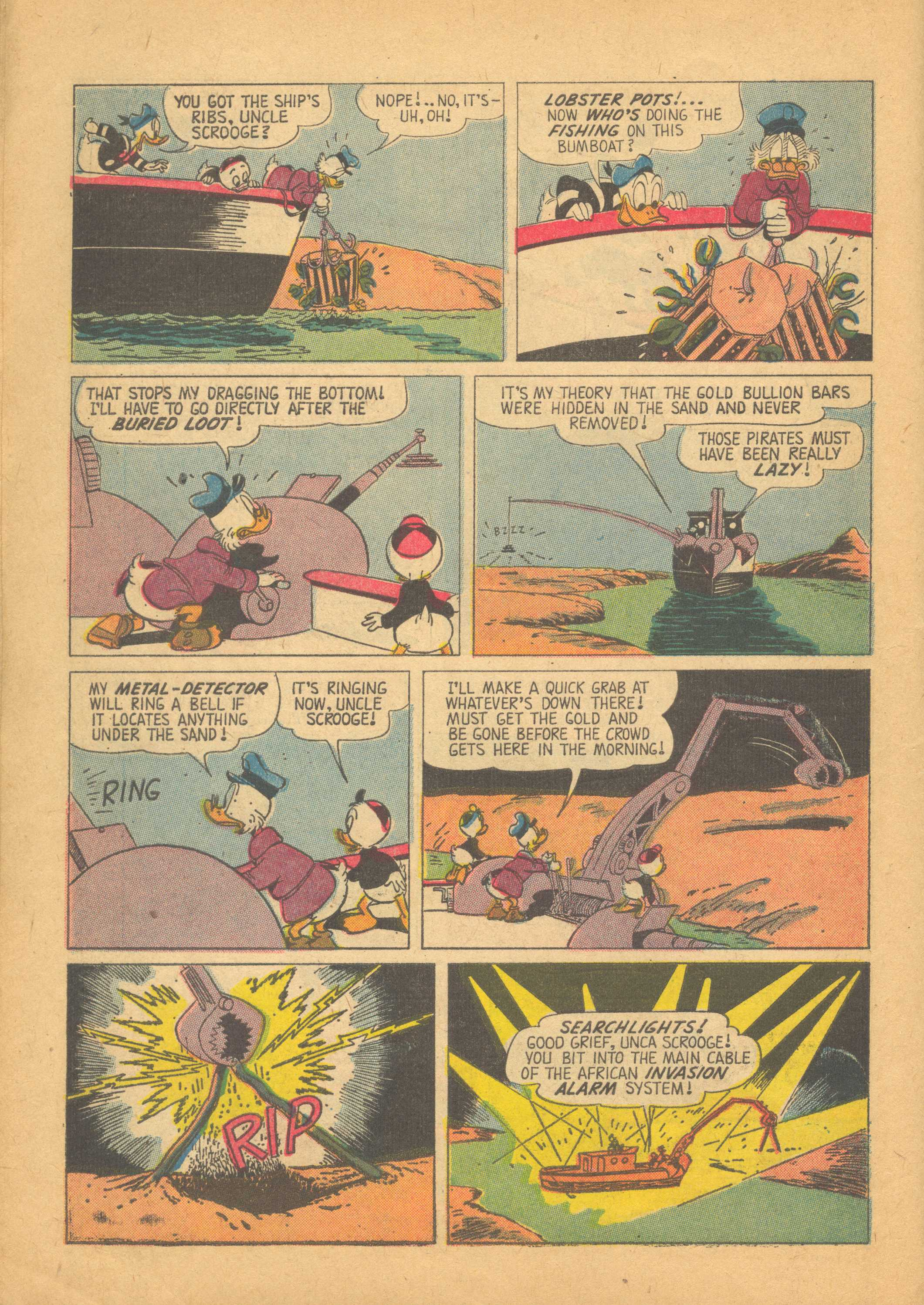 Read online Uncle Scrooge (1953) comic -  Issue #25 - 10