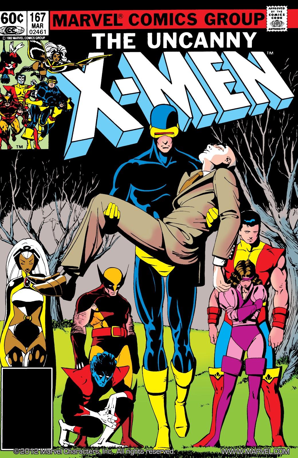 Uncanny X-Men (1963) issue 167 - Page 1