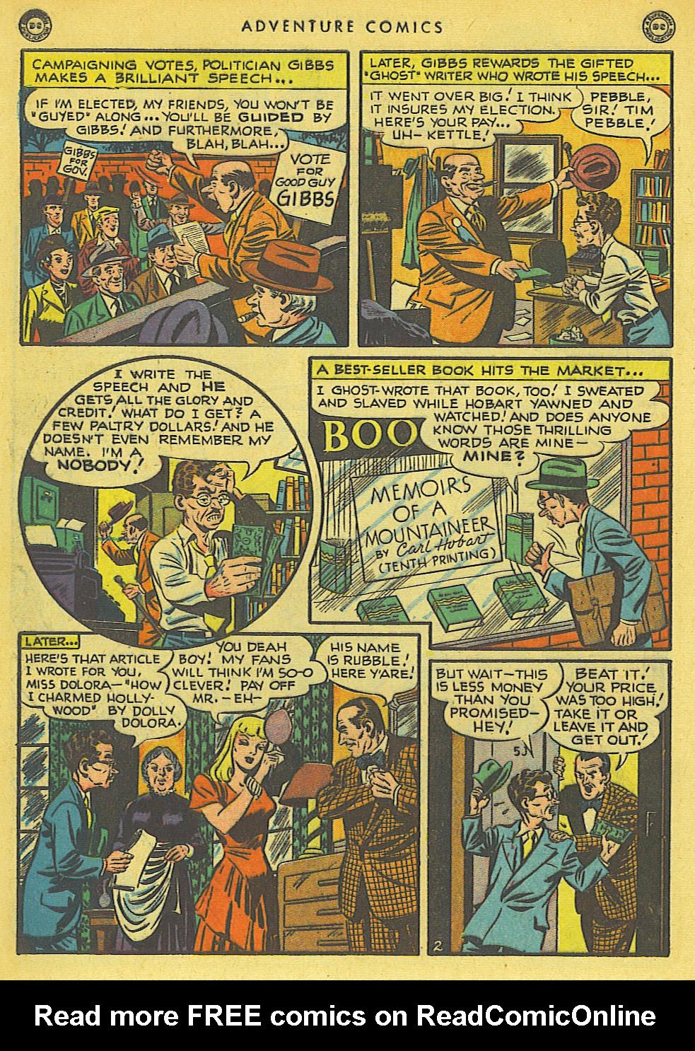 Read online Adventure Comics (1938) comic -  Issue #136 - 40