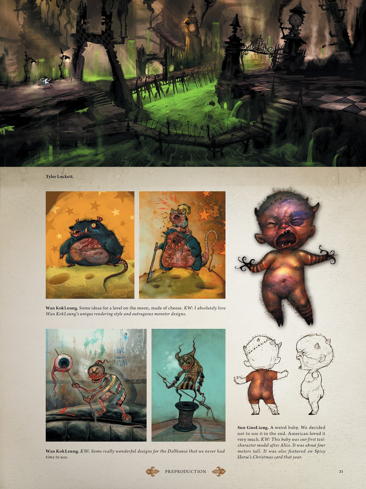 Read online The Art of Alice: Madness Returns comic -  Issue # TPB (Part 1) - 22