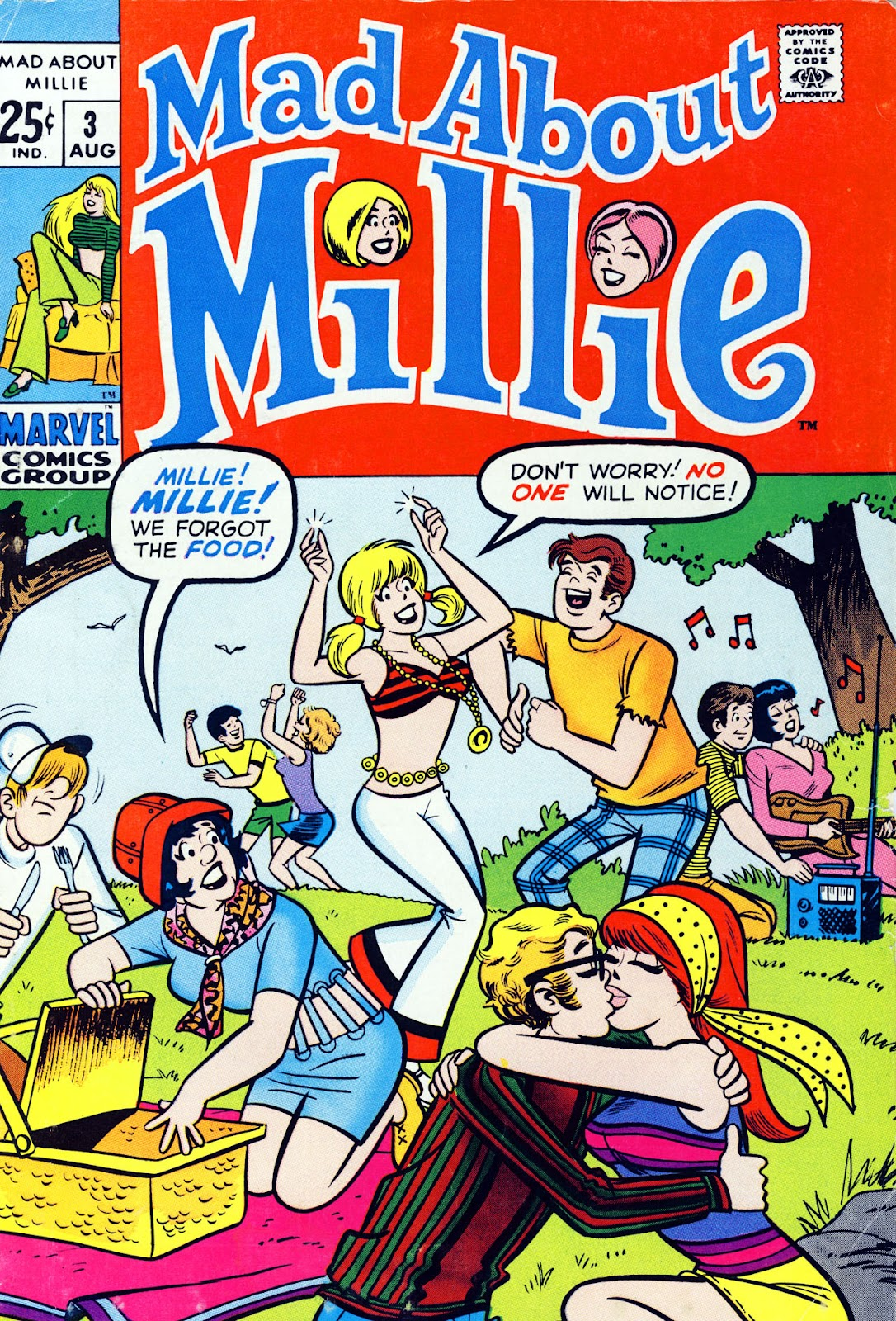 Mad About Millie issue 3 - Page 1