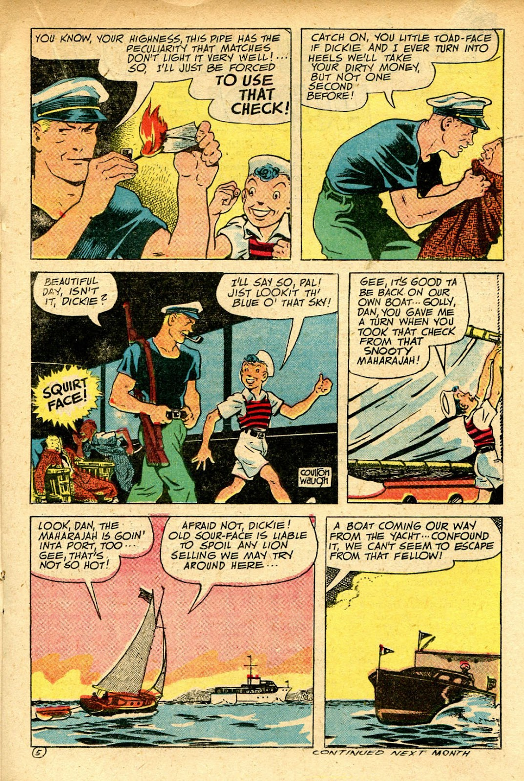 Read online Famous Funnies comic -  Issue #129 - 25