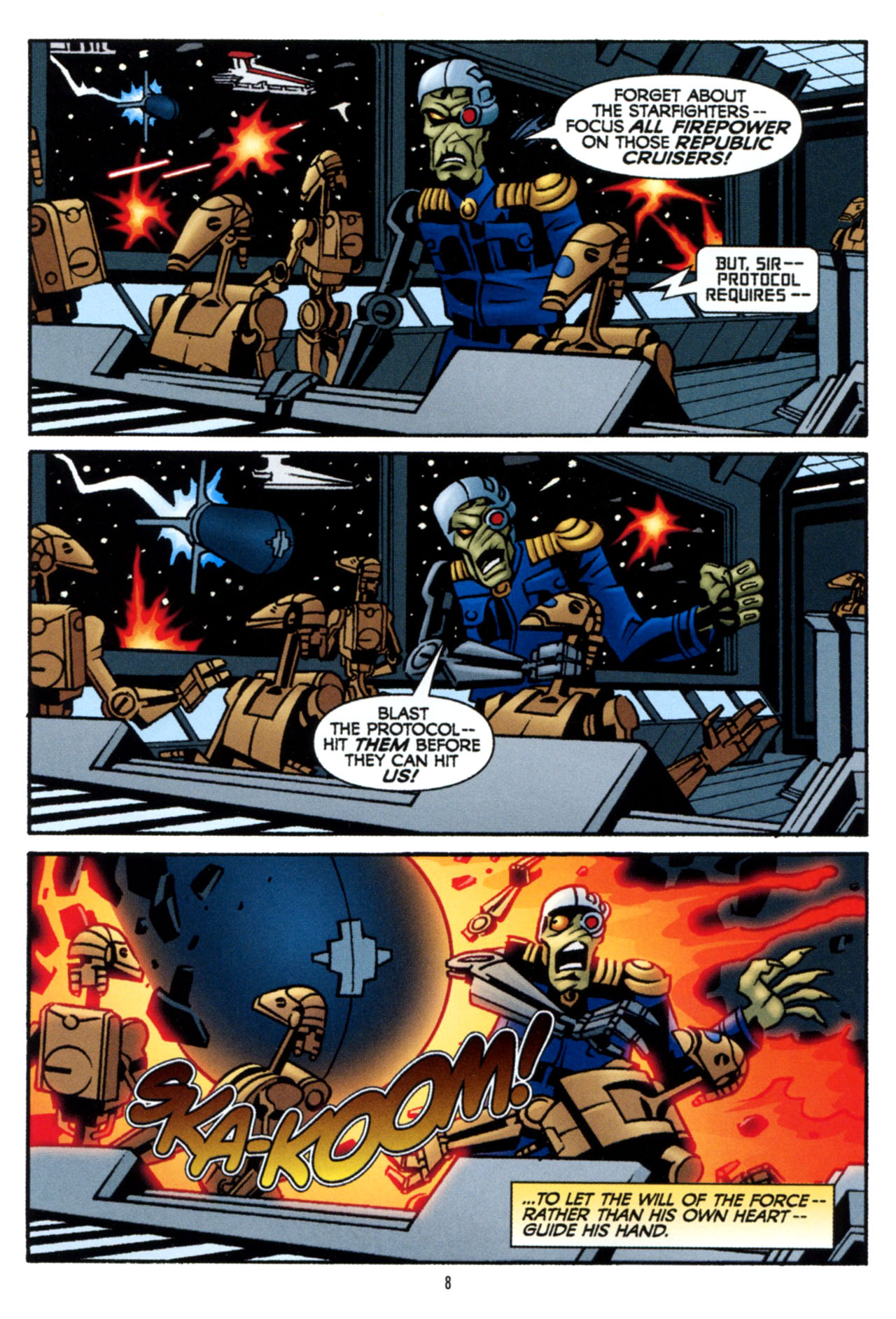 Read online Star Wars: The Clone Wars - The Colossus of Destiny comic -  Issue # Full - 9