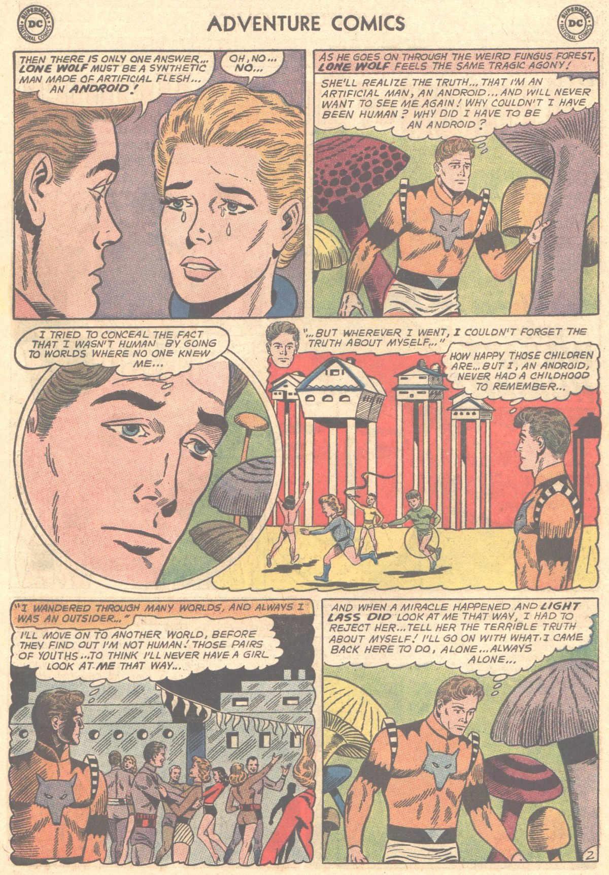 Read online Adventure Comics (1938) comic -  Issue #327 - 11