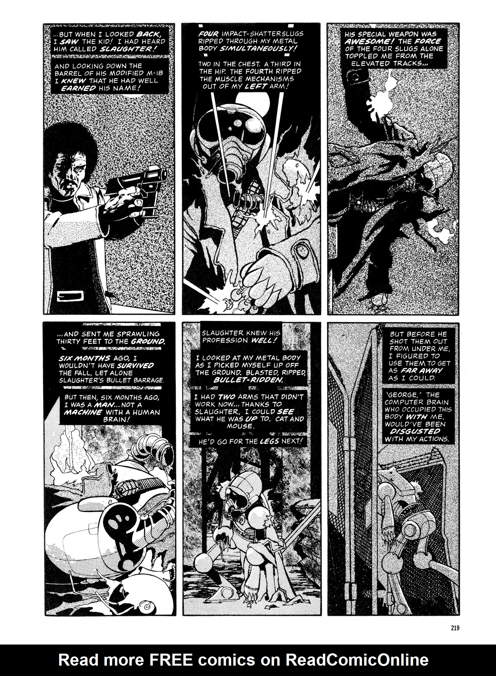 Read online Eerie Archives comic -  Issue # TPB 13 - 220