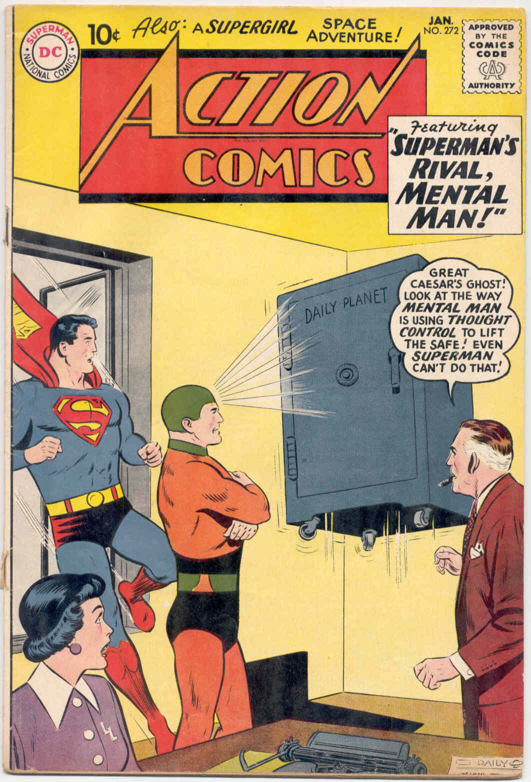 Read online Action Comics (1938) comic -  Issue #272 - 1