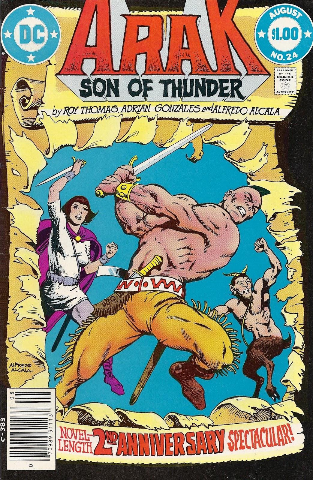 Arak Son of Thunder 24 Page 1