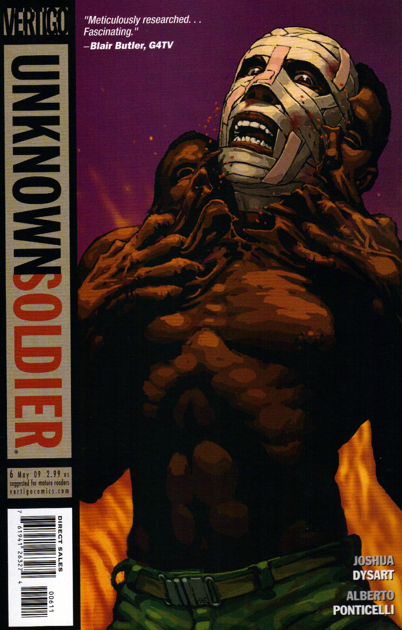 Unknown Soldier (2008) issue 6 - Page 1