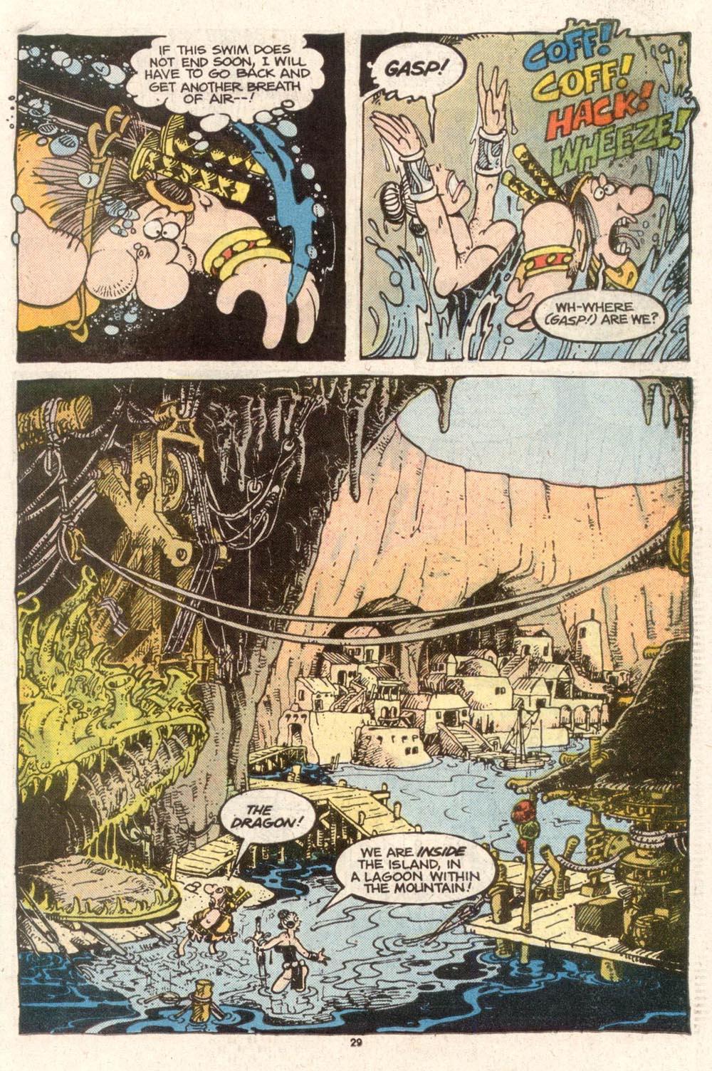 Read online Sergio Aragonés Groo the Wanderer comic -  Issue #50 - 29